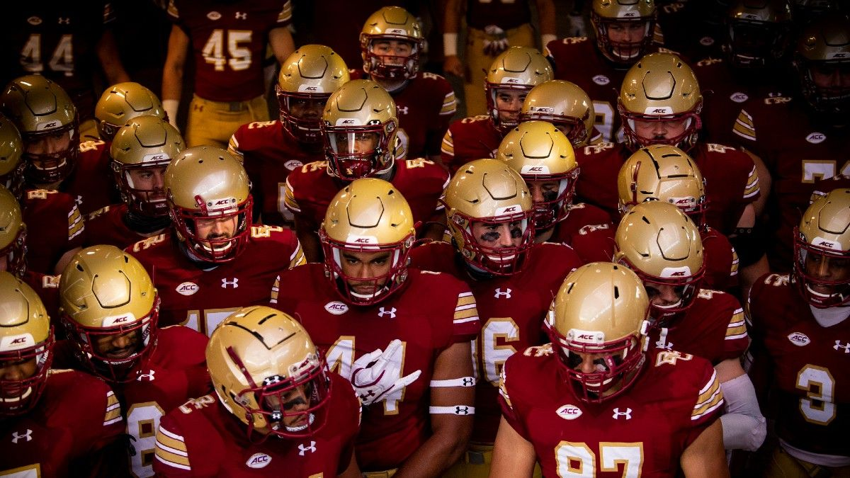 Boston College vs. Georgia Tech Betting Odds & Pick: Back Jurkovec and Eagles Offense at Home (Saturday, Oct. 24) article feature image