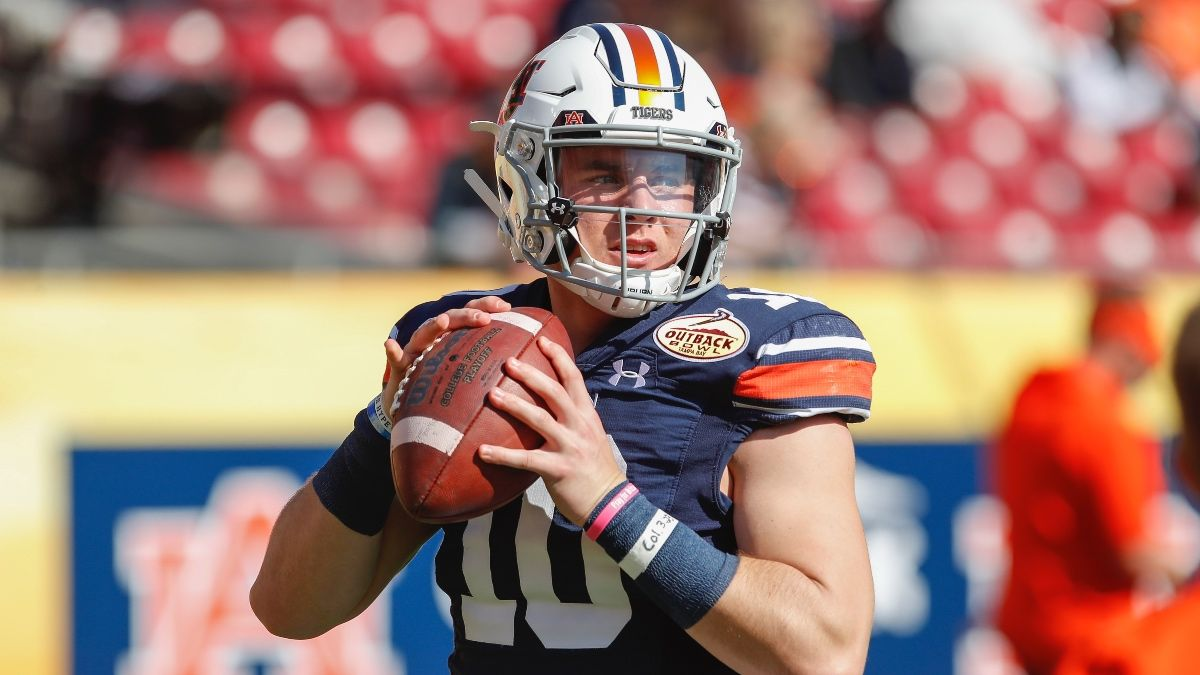 Arkansas at Auburn Betting Odds & Pick: Tigers Offense Matches Up Well (Saturday, Oct. 10) article feature image