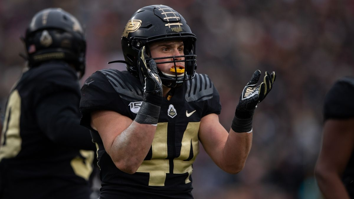 Purdue vs. Illinois Promo: Bet $20, Win $125 if Purdue Gains a Yard! article feature image