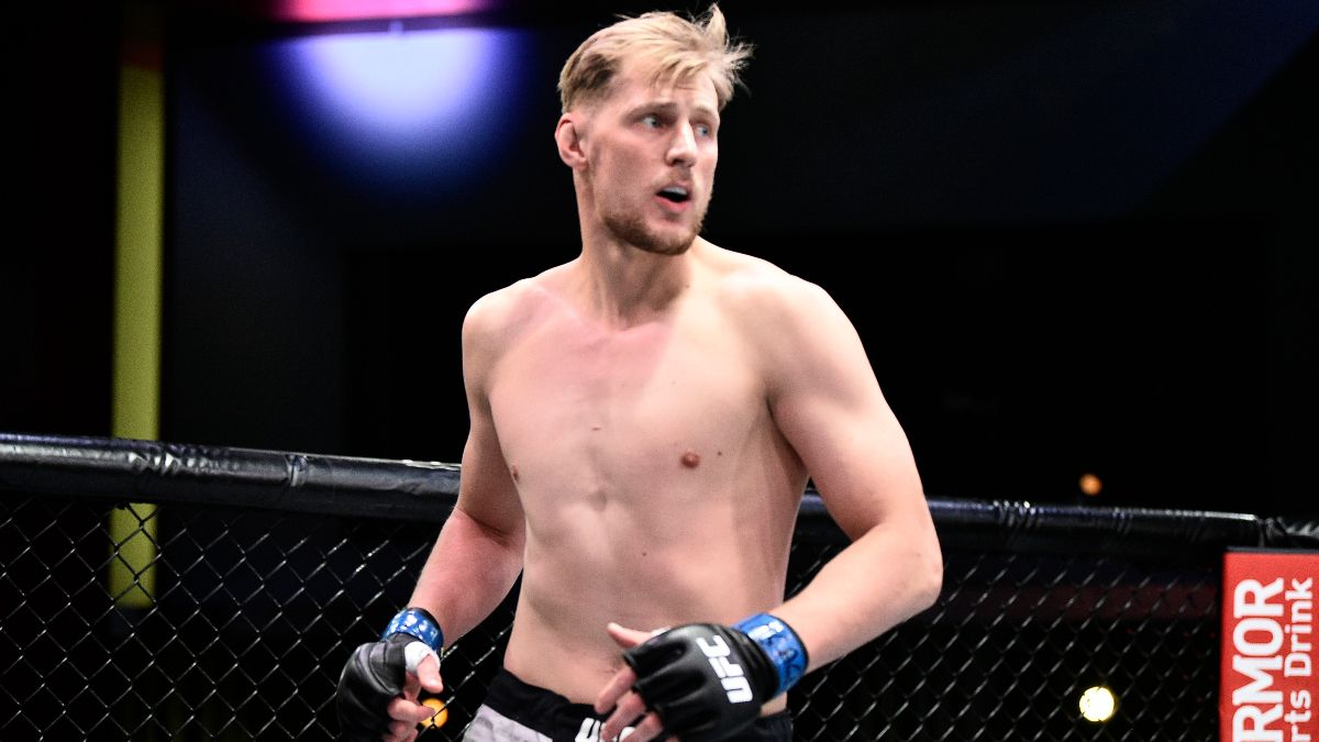 Alexander Volkov vs. Walt Harris Betting Odds, Pick & Prediction: Zerillo's Top Value Play for UFC 254 article feature image