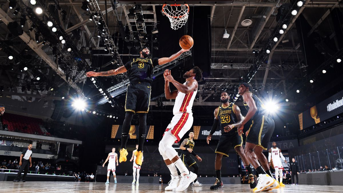 NBA Finals Best Bets: Our Experts' Favorite Picks for Heat vs. Lakers Game 5 (Friday, Oct. 9) article feature image