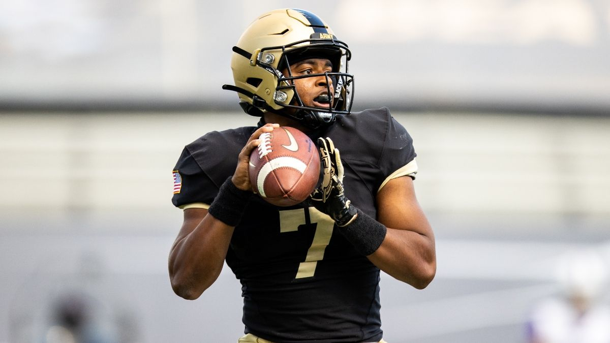 Army vs. Citadel Betting Odds & Pick: Back Another Service Academy Under? (Saturday, Oct. 10) article feature image