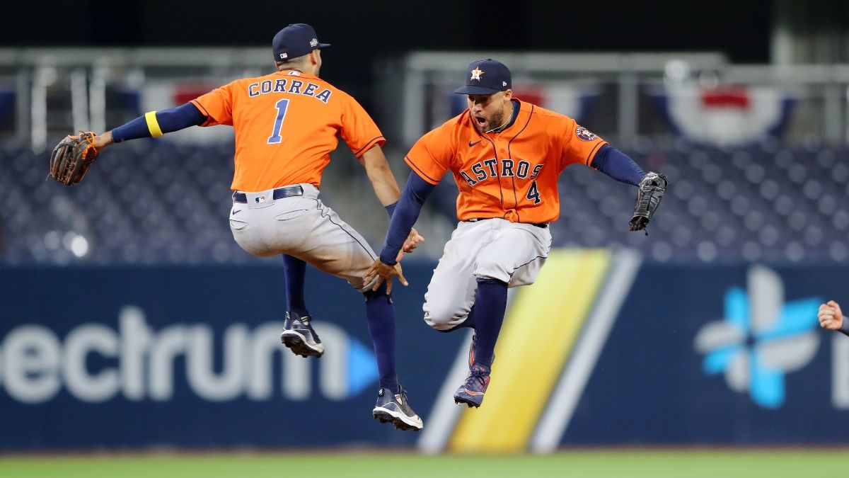 Saturday MLB Playoff Betting Picks, Predictions: How to Bet Astros vs. Rays Game 7 article feature image