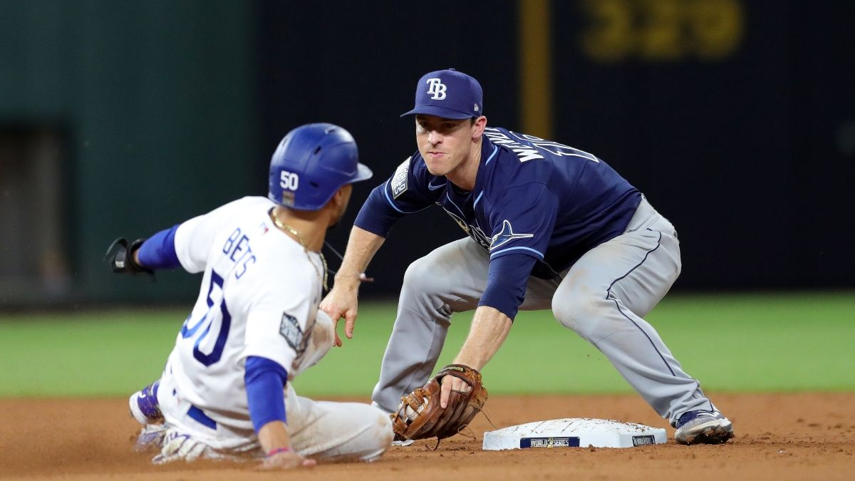 Wednesday World Series Game 2 Odds, Picks & Predictions: Tampa Bay Rays vs. Los Angeles Dodgers (Oct. 21) article feature image