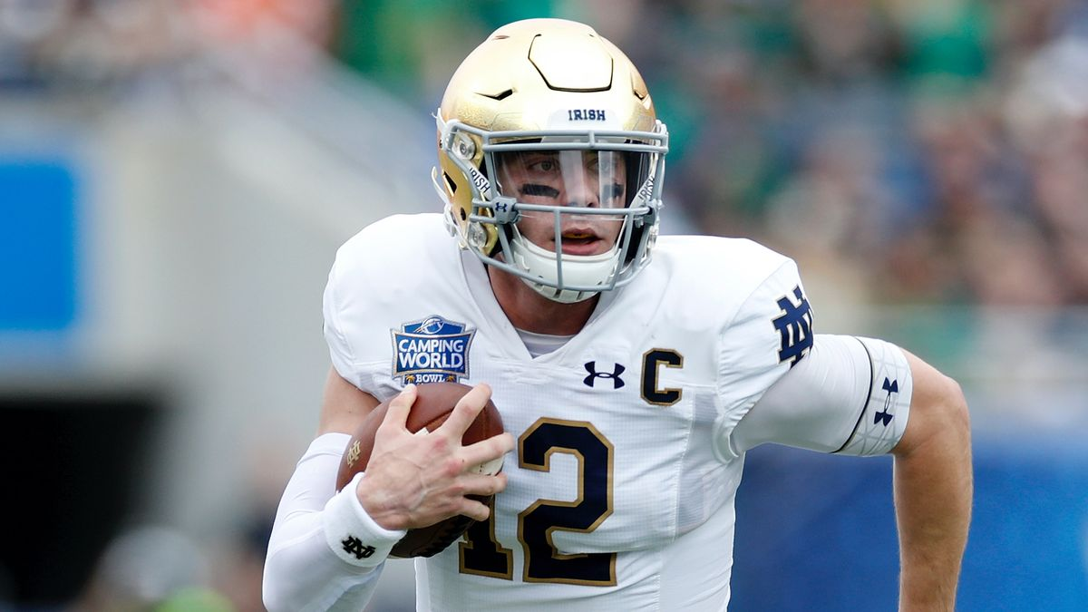 Notre Dame vs. Clemson Promo: Bet $20, Win $125 if Notre Dame Gains a Yard! article feature image