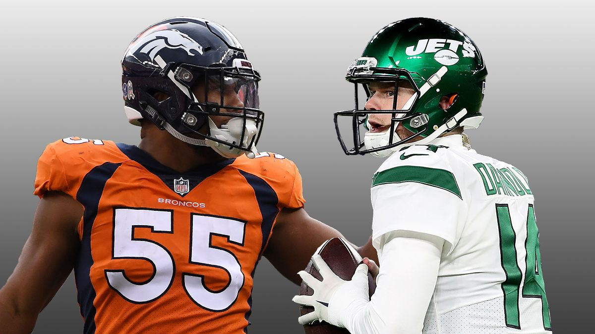 Updated Broncos vs. Jets Odds: What Number To Bet This Thursday Night Football Spread At article feature image