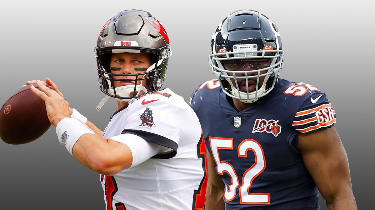 Buccaneers vs. Bears Odds & Pick: How To Bet the Thursday Night Football Total article feature image