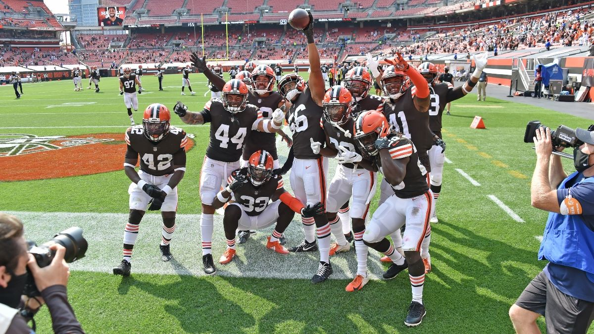 NFL Week 5 Picks: Betting Predictions for Colts vs. Browns & Raiders vs. Chiefs on Sunday (Oct. 11) article feature image