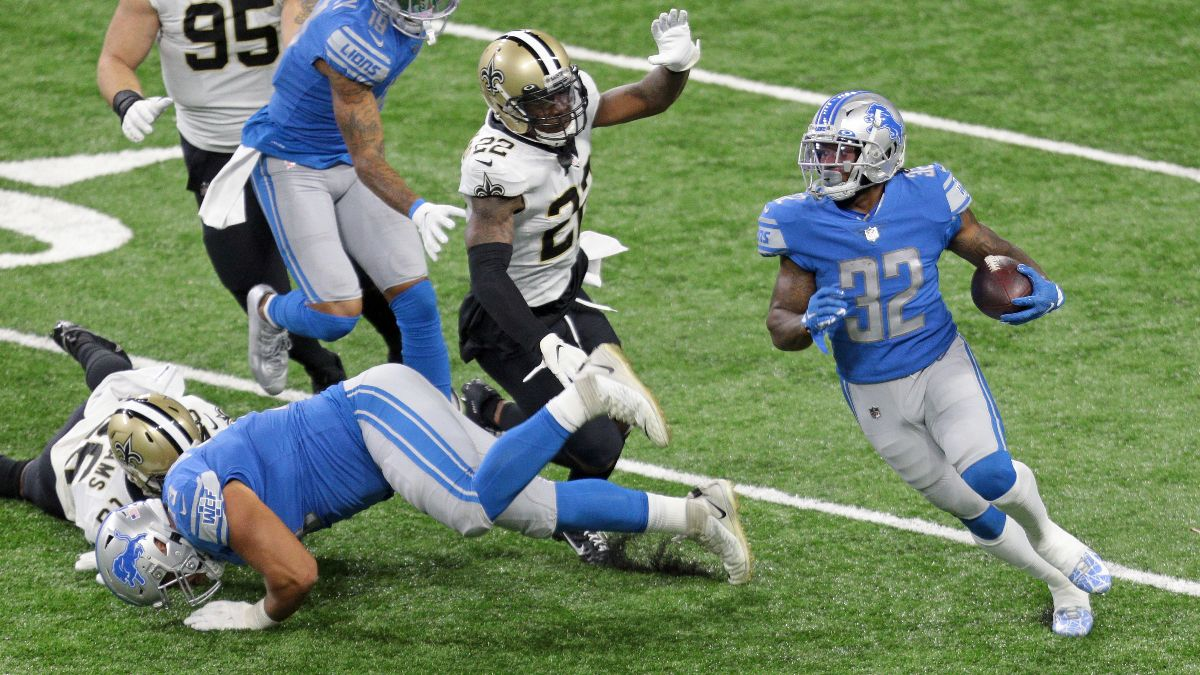 NFL Week 5 Fantasy Buy/Sell Trade Targets: D'Andre Swift Is Coming article feature image