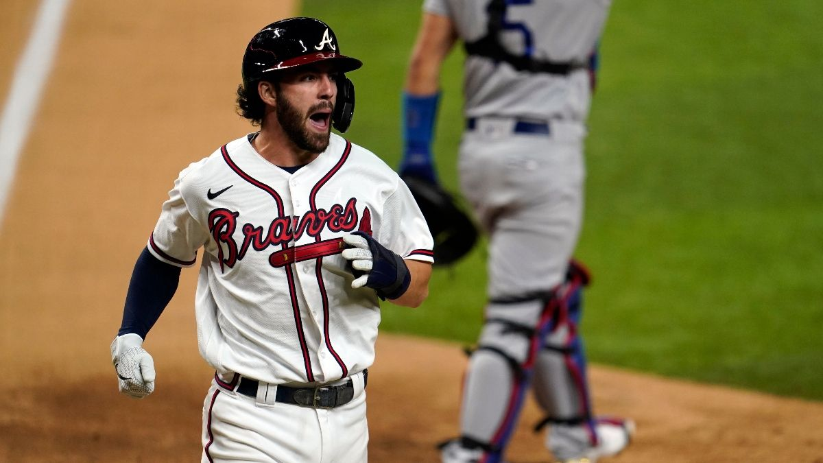 Dodgers vs. Braves NLCS Game 5 Odds, Sharp Betting Pick, PRO System Match (Oct. 16) article feature image