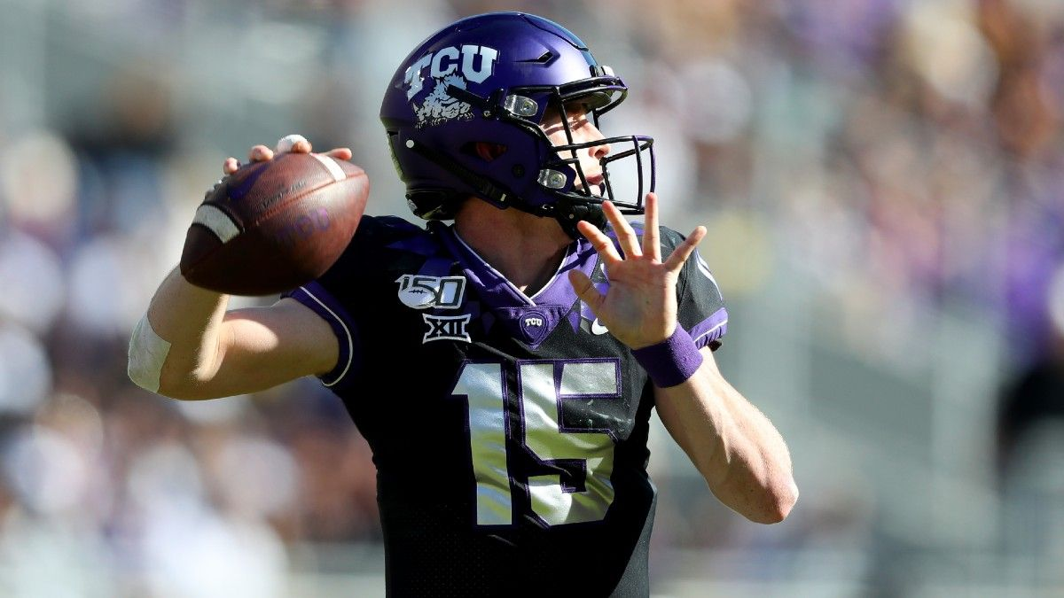 Texas vs. TCU Betting Odds & Pick: Back Gary Patterson and the Frogs Against Top-25 Longhorns? (Saturday, Oct. 3) article feature image