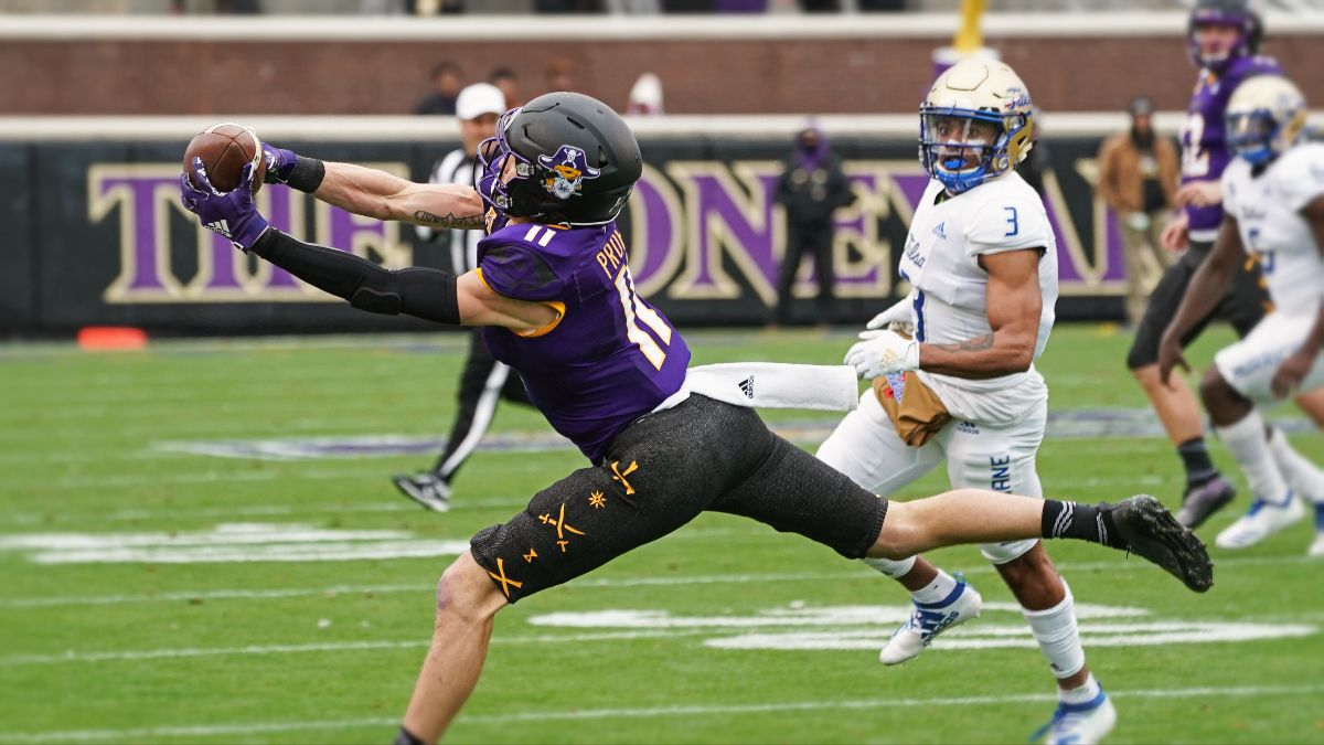 East Carolina vs. Tulsa Betting Odds & Pick: Value on Under in Golden Hurricane Home Opener (Friday, Oct. 30) article feature image