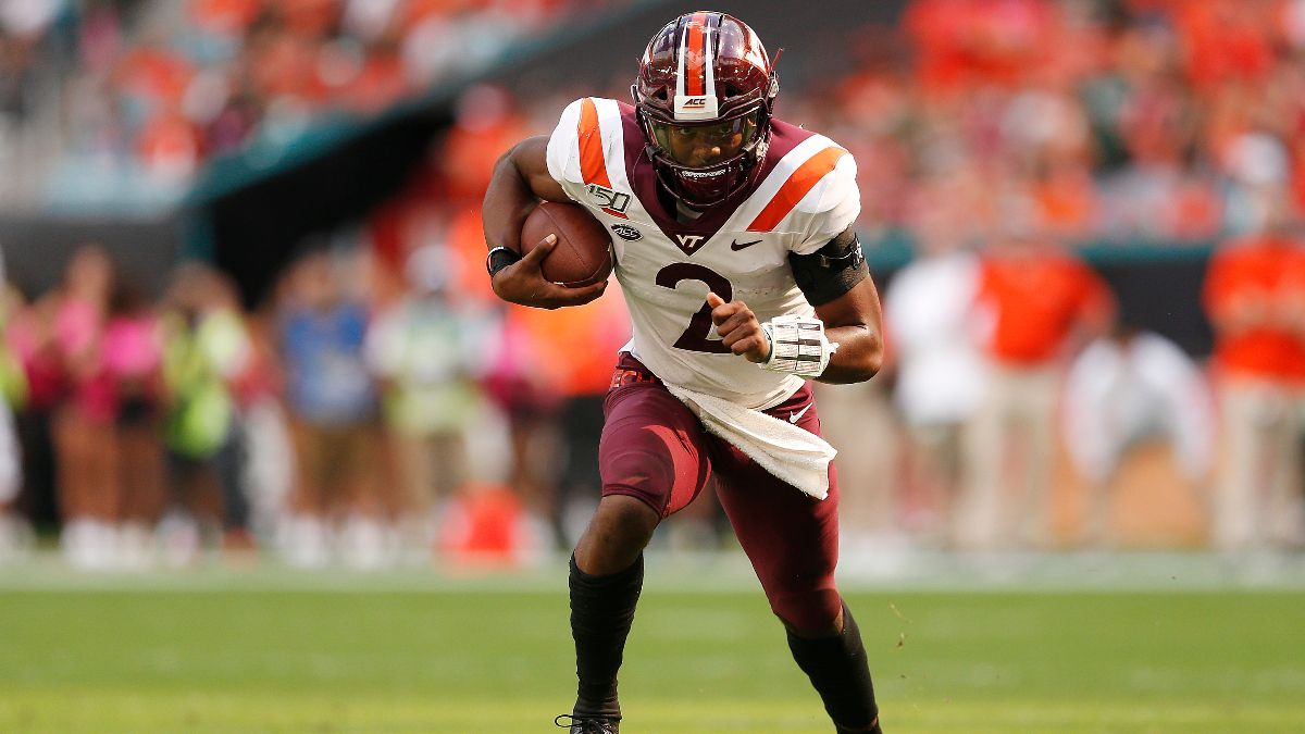 College Football Odds & Picks for Virginia Tech at Louisville: Bet the Hokies In This ACC Matchup article feature image