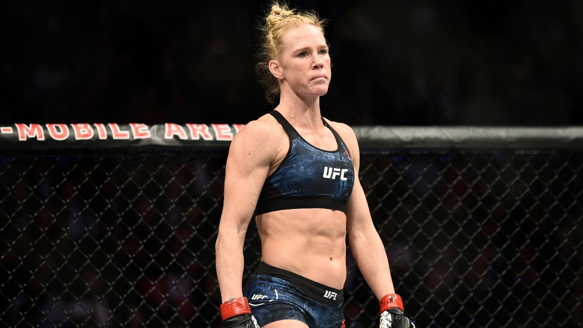 UFC Fight Night Betting Odds: Holly Holm Has Slight Edge Over Irene Aldana article feature image