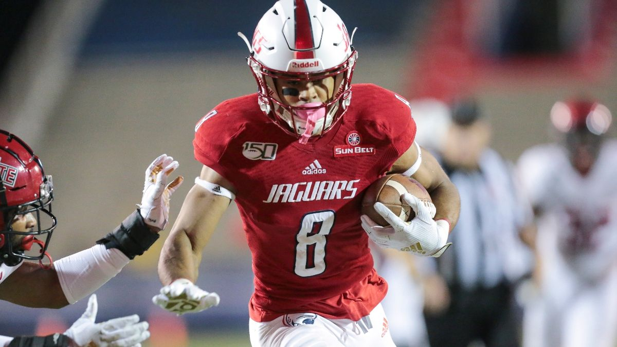 College Football Odds & Sharp Pick: How Pros Are Betting South Alabama vs. Georgia Southern article feature image