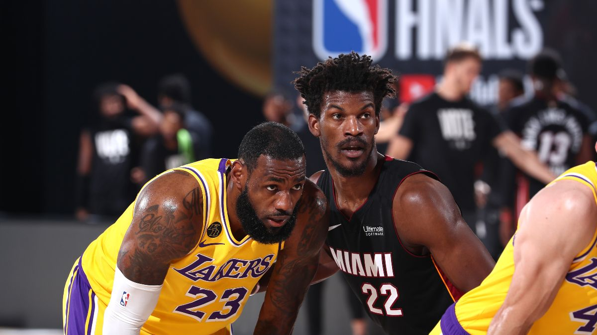 NBA Finals Best Bets: Our Experts' Favorite Picks for Lakers vs. Heat Game 6 (Sunday, Oct. 11) article feature image