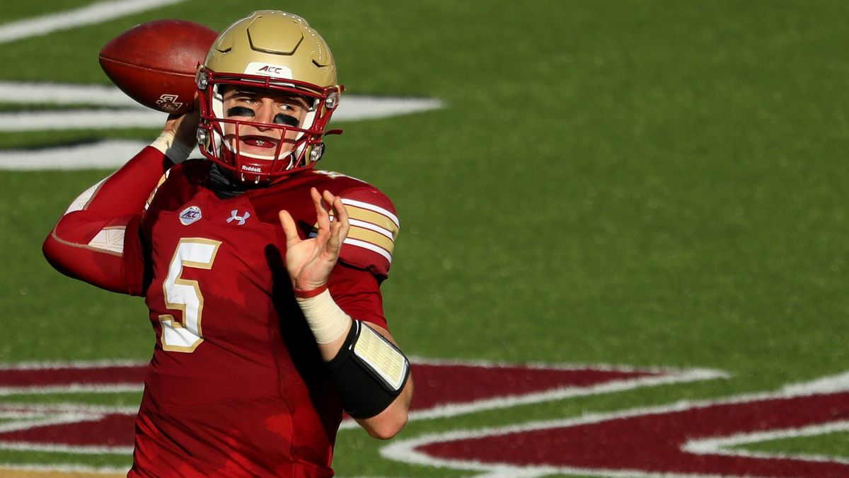 Pittsburgh at Boston College Betting Odds & Pick: Can Eagles Topple Pitt's Defense? (Saturday, Oct. 10) article feature image