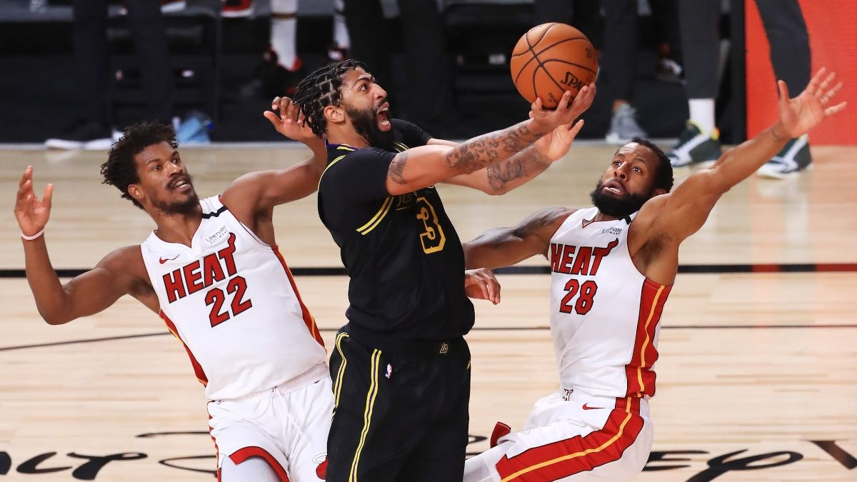 NBA Finals PRO Report: How Sharps & Experts Are Betting Heat vs. Lakers Game 6 (Sunday, Oct. 11) article feature image