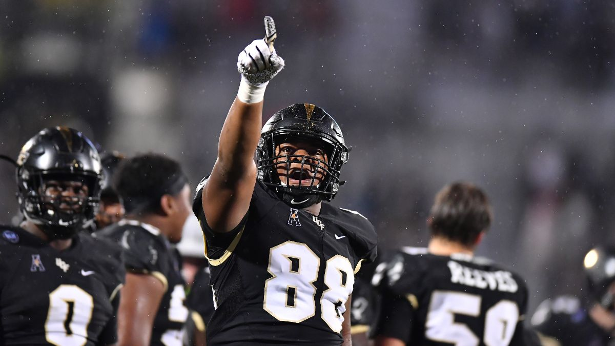 UCF at Memphis Odds & Pick: Knights Should Dominate on Defense (Saturday, Oct. 17) article feature image