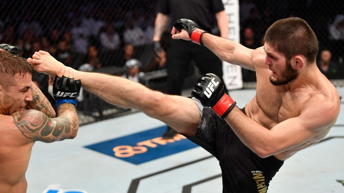DraftKings UFC 254 Promo: Bet Khabib at 100-1 Odds to Move to 29-0! article feature image