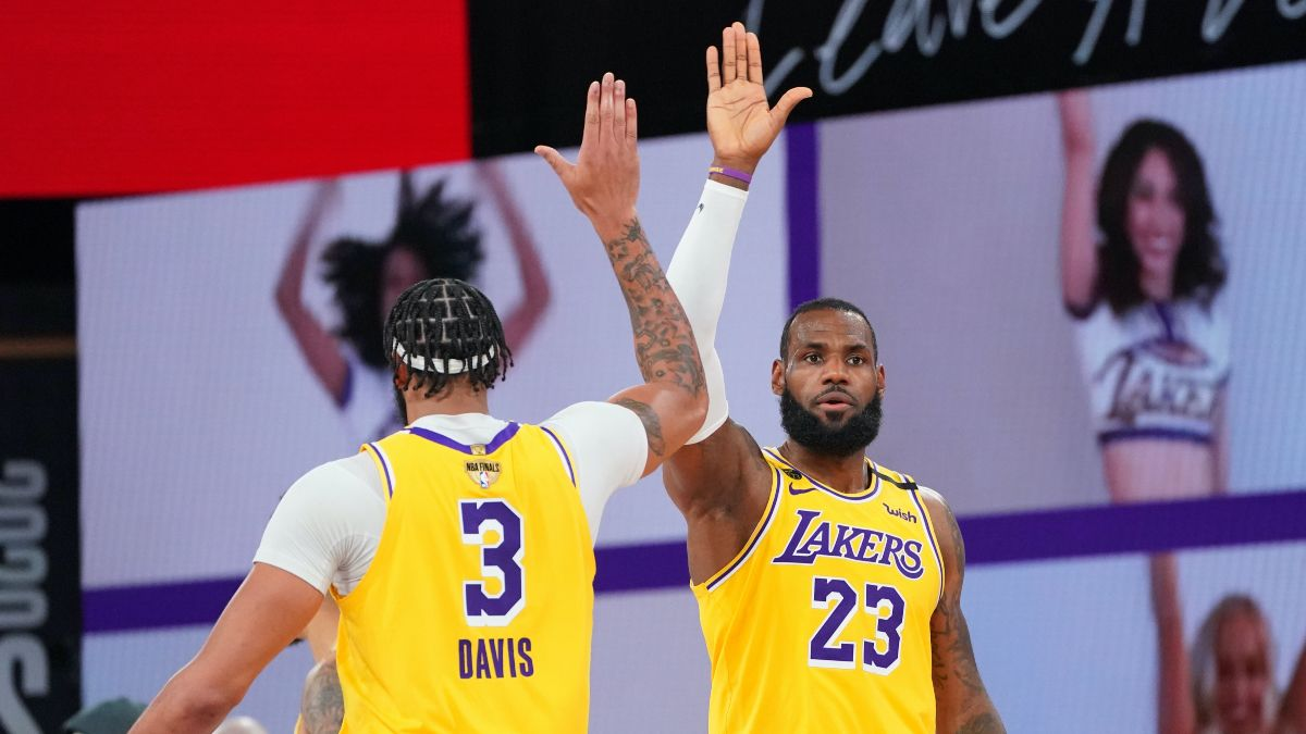 Lakers vs. Heat Game 2 Odds, Picks, Betting Predictions: Can Banged-Up Miami Keep it Close? (Friday, Oct. 2) article feature image