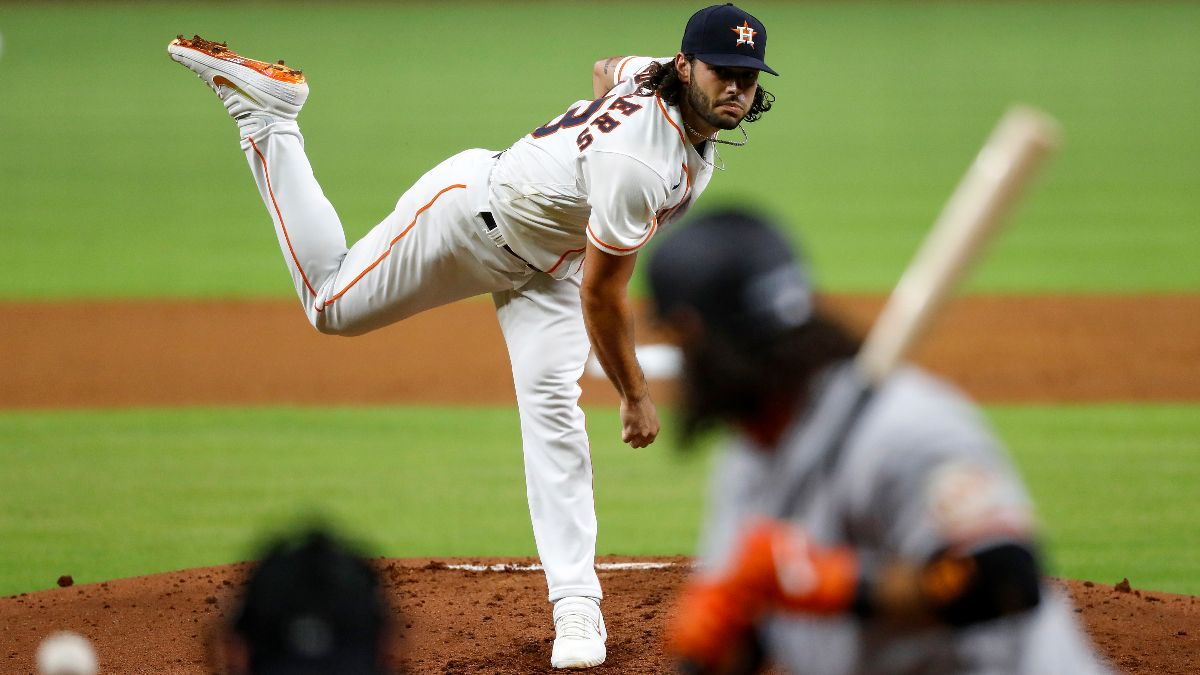 Monday MLB Playoff Odds, Picks & Predictions: Houston Astros vs. Oakland A's Game 1 (Oct. 5) article feature image