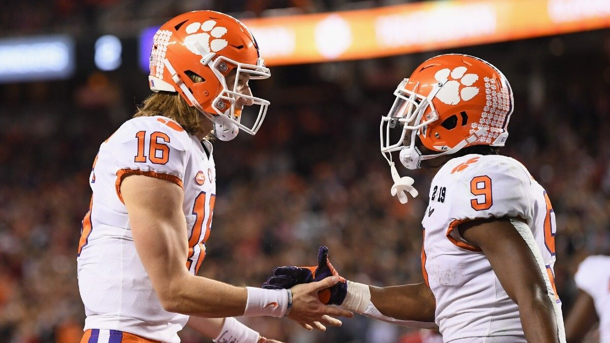Clemson vs. Virginia Odds & Pick: Back the Tigers' First Half Spread Before Starters are Pulled (Saturday, Oct. 3) article feature image
