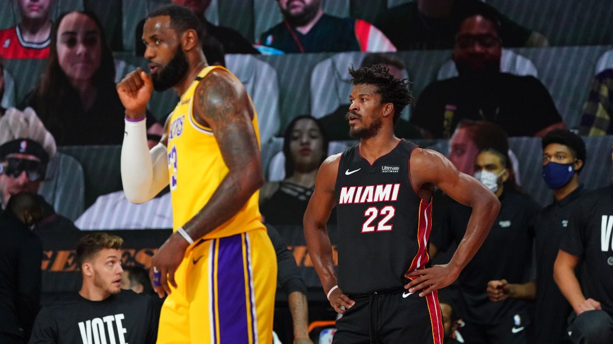 NBA Finals Betting Picks: Our Favorite Bets for Heat vs. Lakers Game 2 (Friday, Oct. 2) article feature image