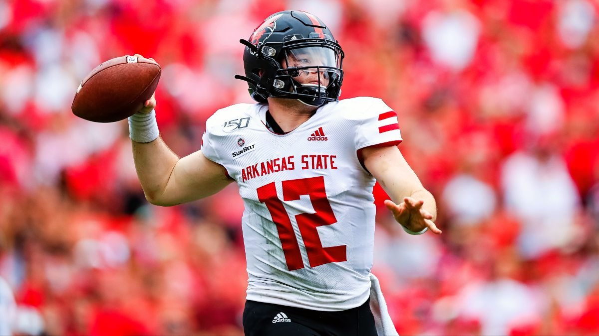 Coastal Carolina vs. Arkansas State Odds & Pick: Upset Alert on the Surf Turf? (Saturday, Oct. 3) article feature image