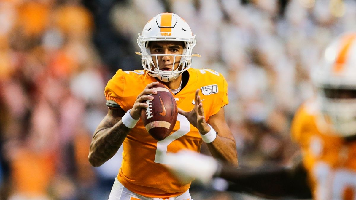 Tennessee vs. Arkansas Promo: Bet $1, Win $100 if the Vols Score a TD! article feature image