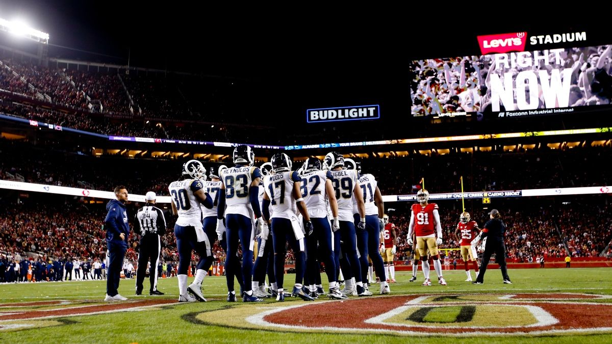Stuckey's Sunday Night Football Guide: Odds & Picks for Rams vs. 49ers (Sunday, Oct. 18) article feature image