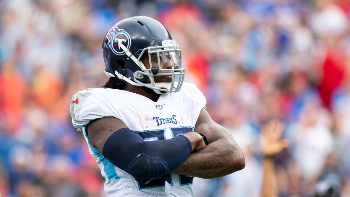 Titans vs. Ravens Odds & Promos: Bet $10, Win $250 if Derrick Henry Scores a TD, More! article feature image