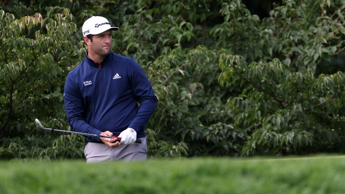 Updated CJ Cup Odds: Jon Rahm the Favorite After Dustin Johnson's Withdrawal article feature image