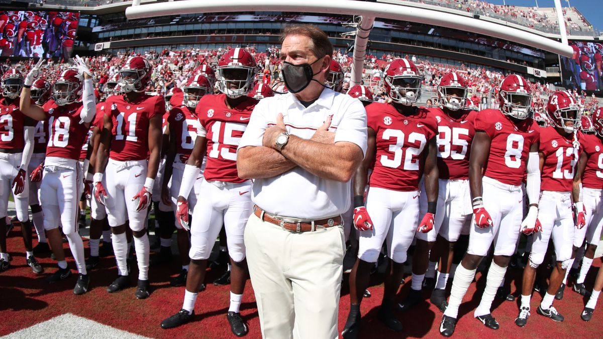 Rovell's Week 7 College Football Notebook: Massive Money on Alabama After COVID-19 News article feature image