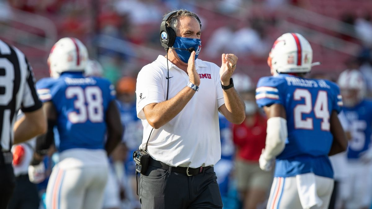 SMU vs. Tulane Odds, Betting Pick: Sharps Leveraging Windy Weather Forecast on Friday Night article feature image