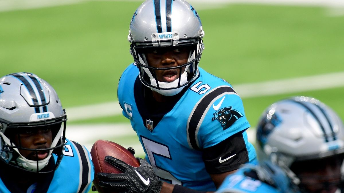 Panthers vs. Falcons Promos in Indiana: Bet $20, Win $125 if the Panthers Gain at Least 1 Yard! article feature image