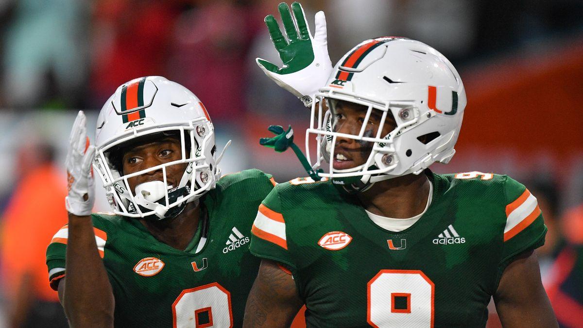 College Football Odds & Picks: How We're Betting Cincinnati vs. SMU, Miami vs. Virginia, More (Saturday, Oct. 24) article feature image