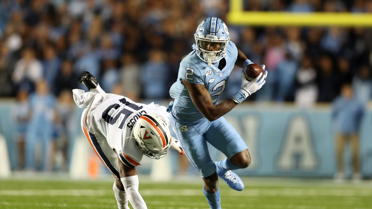 College Football Odds & Picks: Sharps Betting North Carolina vs. Virginia Total (Saturday, Oct. 31) article feature image