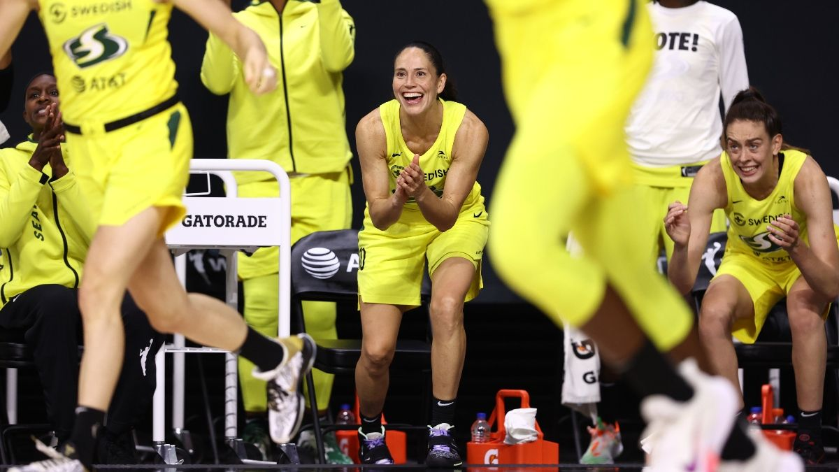 WNBA Finals Game 1 Betting Odds, Pick: Back the Storm For Fast Start vs. Aces (Saturday, Oct. 3) article feature image