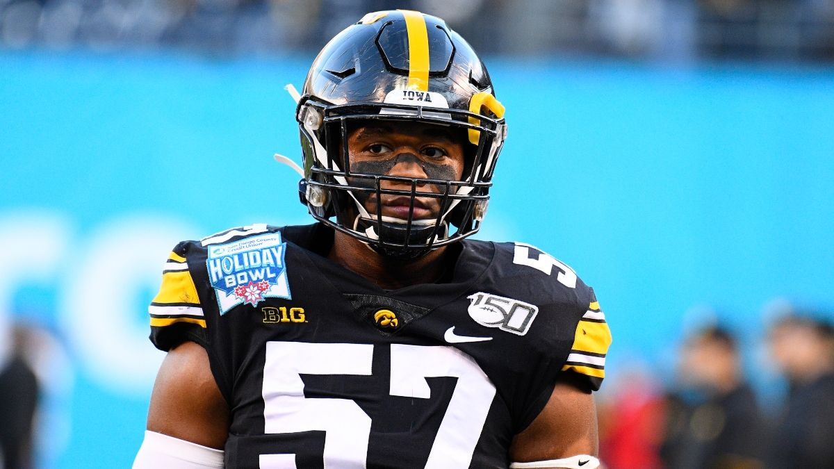 Iowa vs. Minnesota Promo: Bet $20, Win $125 if Iowa Gains a Yard! article feature image