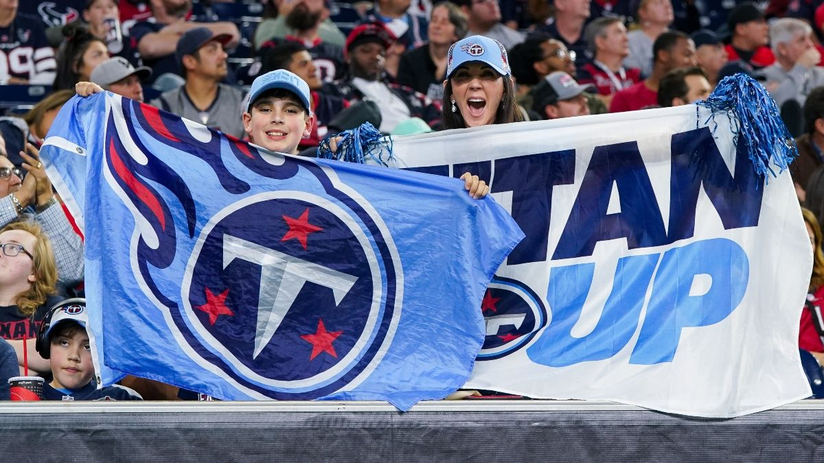 Titans vs. Ravens Promo: Bet $1, Win $100 if There's at Least 1 TD! article feature image