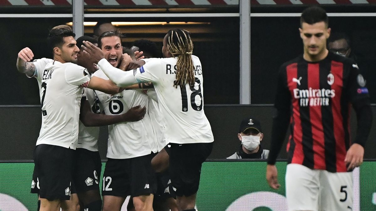 Lille vs. AC Milan Europa League Betting Odds, Predictions & Picks (Thursday, Nov. 26) article feature image