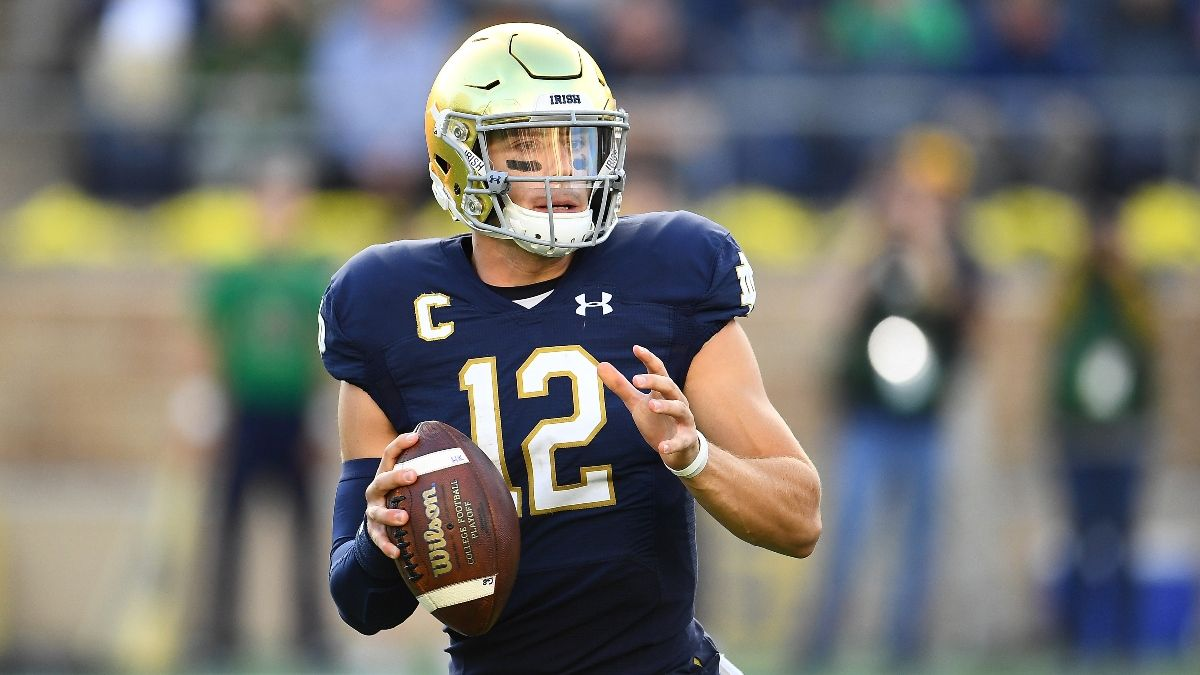 College Football Odds & Picks: Sharp Betting, Projections for 3 Saturday Games, Including Clemson vs. Notre Dame article feature image