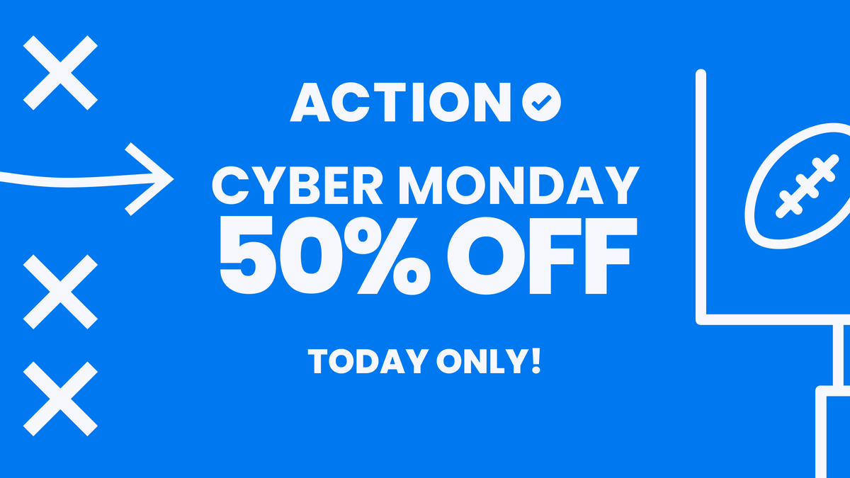 CYBER MONDAY: Get 50% Off Action PRO for a Year! article feature image