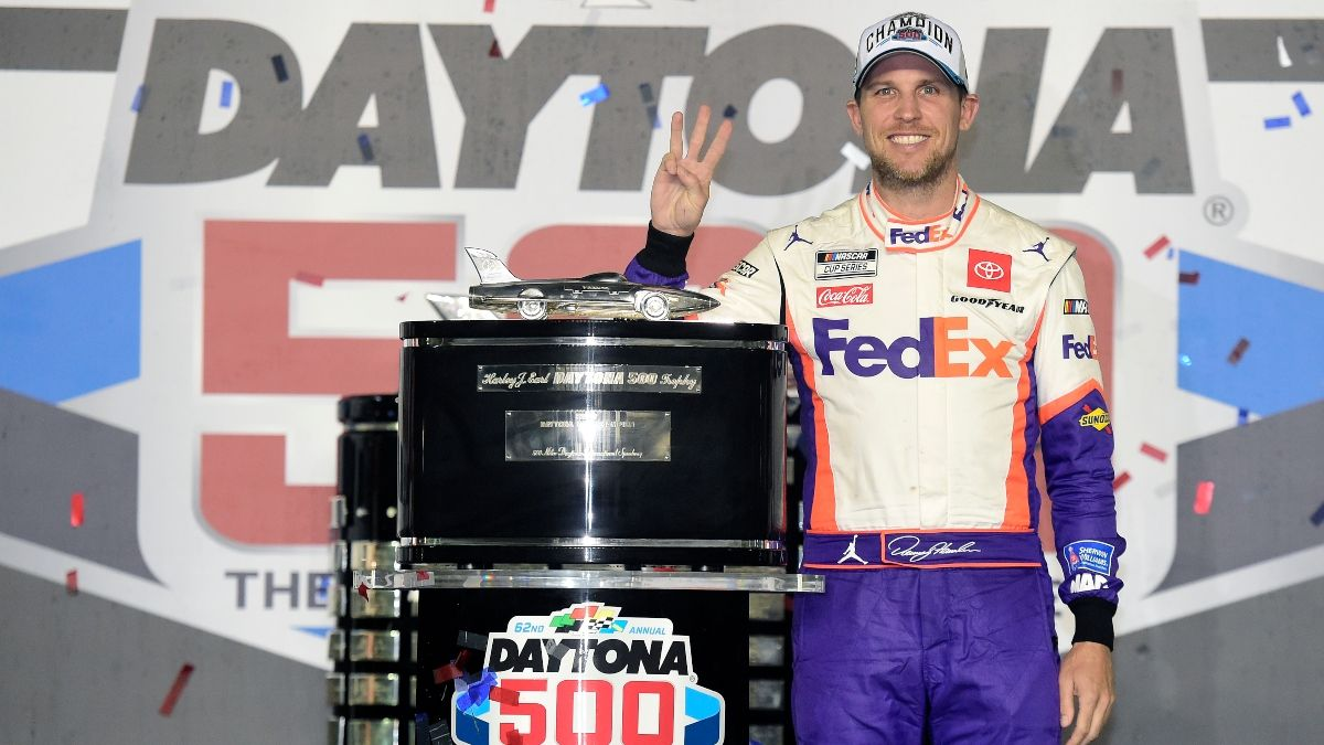 2021 Daytona 500 Odds: Denny Hamlin Favored To Win NASCAR's Biggest Race article feature image