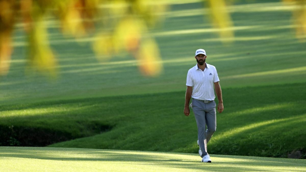 Sobel's Masters Sunday Betting Preview: Should You Back Dustin Johnson at -295 Odds? article feature image