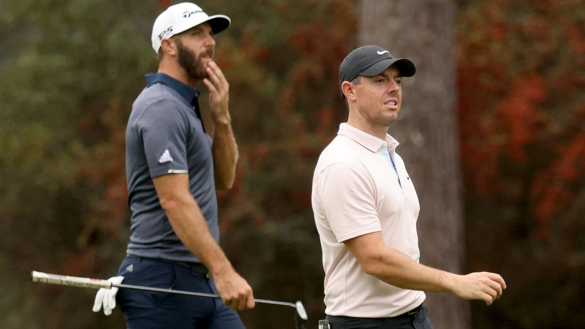 2021 British Open Odds: Dustin Johnson, Rory McIlroy Favorites at Royal St. George's article feature image
