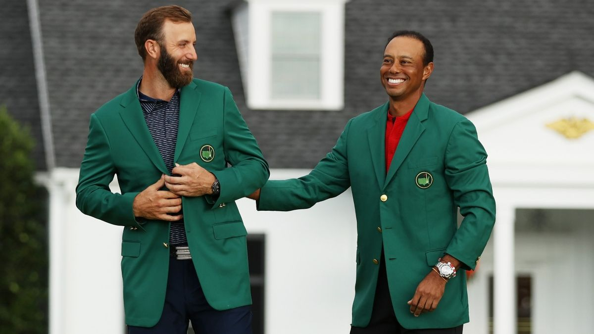 2021 Masters Odds: Dustin Johnson the Favorite for Green Jacket at Augusta National article feature image
