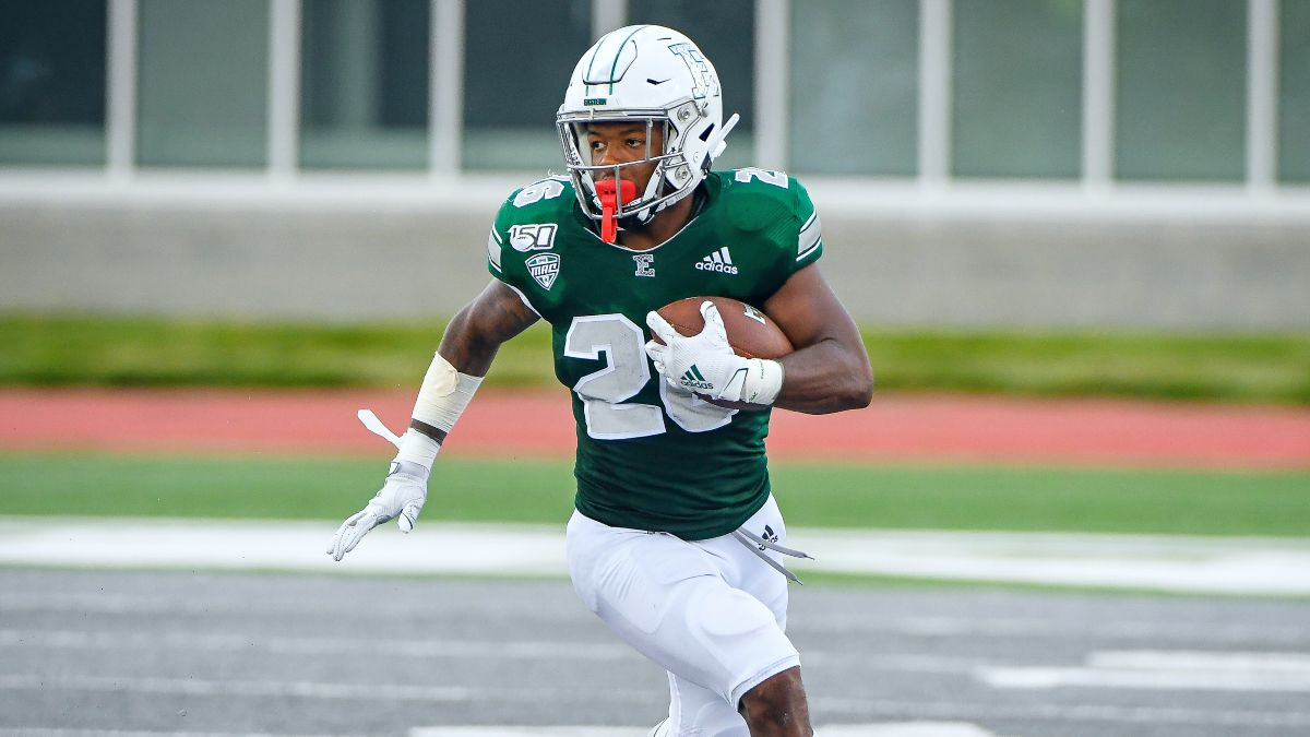 College Football Odds & Picks for Eastern Michigan vs. Kent State: Betting Value Lies With Eagles article feature image
