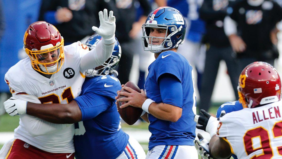 Giants vs. Washington Odds & Picks: Bet Sunday's Moneyline Underdog article feature image